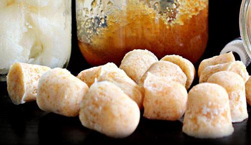 Леденцы от кашля с кокосовым маслом