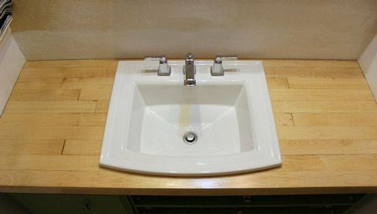 Тумба под раковину в ванную