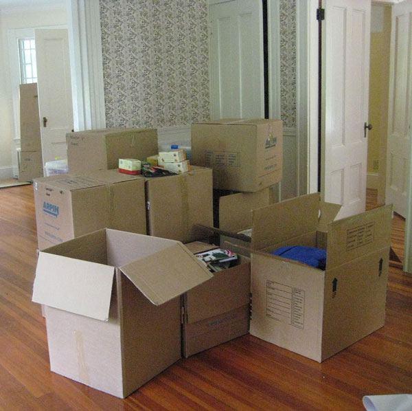 Сезонный переезд Советы как переехать на дачу с кучей вещей