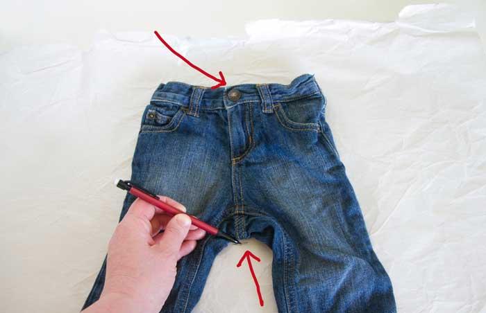 штаны из футболки