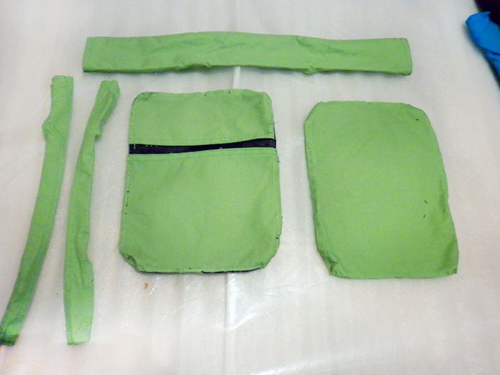 Детали выкройки сумки