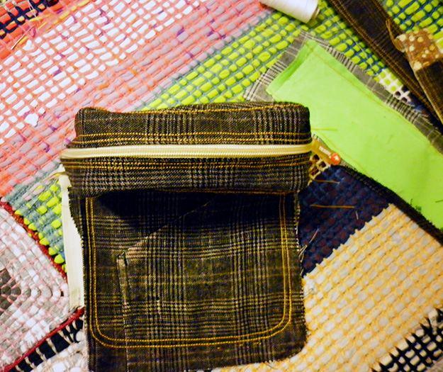 Новая сумка из старой сумки