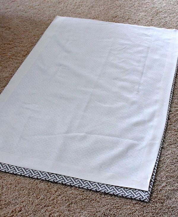 Подкладка римской шторы