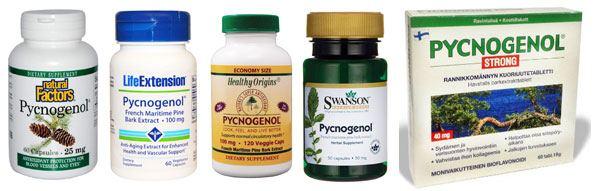 Препараты с пикногенолом