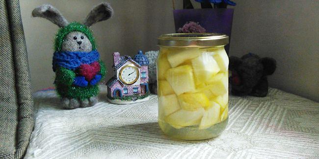 Дыня консервированная как ананас