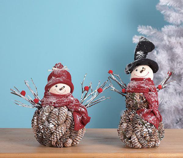 Снеговик своими руками поделка