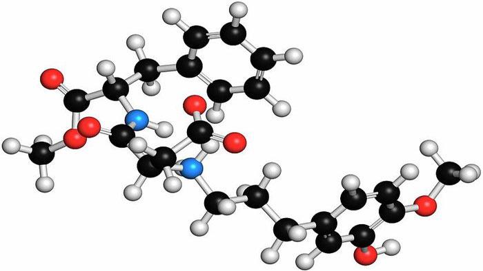 3D молекула адвантама