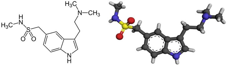Молекулы суматриптана