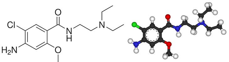 Формула Metoklopramide